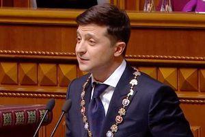 Nhiệm vụ ưu tiên số một của tân Tổng thống Ukraine Zelensky