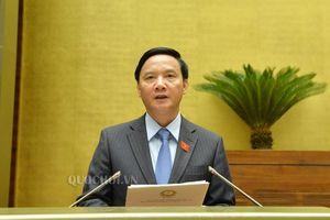 Quốc hội thảo luận việc sửa đổi, bổ sung Luật Kinh doanh bảo hiểm và Luật Sở hữu trí tuệ
