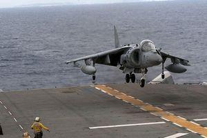 Cường kích AV-8B Harrier của lính thủy đánh bộ Mỹ rơi tại Bắc Carolina