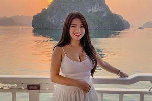 Cô gái Malaysia gây chú ý với thân hình gợi cảm, vòng một 'khủng'