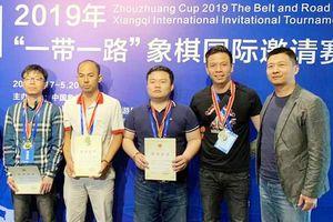 Cờ tướng Việt Nam giành vị trí số 1 đồng đội quốc tế