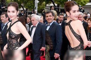 Ồn ào Ngọc Trinh 'mặc như không' tại Cannes, nhà thiết kế lên tiếng
