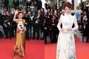 Trước Ngọc Trinh, mỹ nhân Việt diện gì tới dự thảm đỏ Cannes?