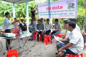 Sản phẩm tiêu đầu tiên Việt Nam đạt 3 chứng nhận hữu cơ