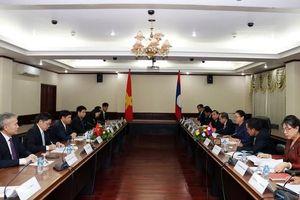 Đoàn đại biểu Bộ Ngoại giao thăm làm việc tại Lào