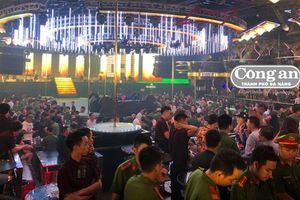 Hàng chục 'dân chơi' dương tính với ma túy trong vũ trường lớn nhất Đà Nẵng