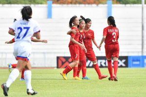 Thắng Philippines 1-0, Việt Nam giành HCĐ giải U15 nữ Đông Nam Á 2019