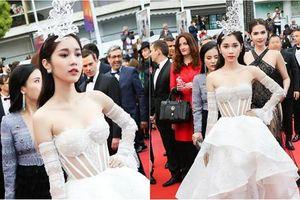 Không chỉ Ngọc Trinh, mỹ nhân Việt này cũng 'làm lố' tại LHP Cannes