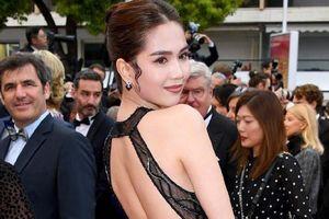 Ngọc Trinh ăn vận lố lăng, phản cảm tại LHP Cannes: Được và mất!