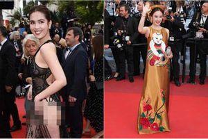 Cùng dự Cannes, những sao này 'kín như bưng' vẫn đẹp hơn 'hở bạo' như Ngọc Trinh