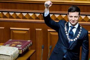 Tân tổng thống Ukraine nhậm chức