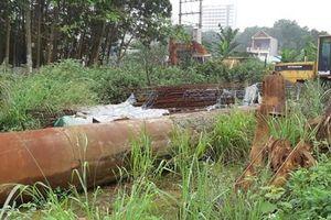 Thái Nguyên: Dự án cấp bách… sau 3 năm khởi công vẫn dở dang
