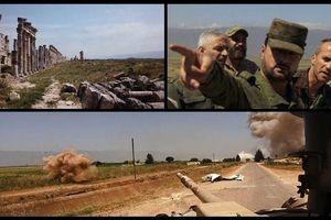 Xem quân đội Syria dồn vũ khí, binh sĩ tổng lực tấn công phiến quân ở Hama