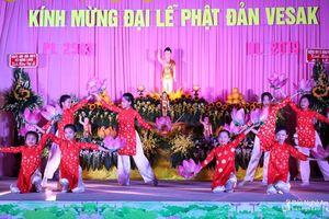 Chùa Long Hoa tổ chức đại lễ Phật đản