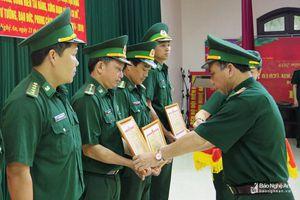 Đảng ủy Bộ đội Biên phòng Nghệ An tôn vinh 5 điển hình tiên tiến học tập và làm theo Bác