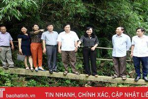 350 triệu đồng giúp người dân vùng sâu Hà Tĩnh xóa 'cầu khỉ'