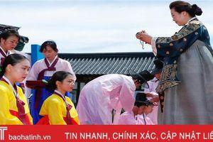 Lễ trưởng thành đánh dấu tuổi 20 tươi đẹp của thanh niên Hàn Quốc
