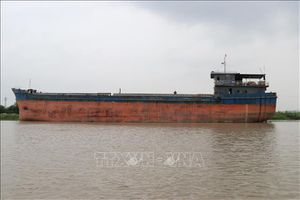 Tàu thủy đâm va vào gầm cầu An Thái, Kinh Môn