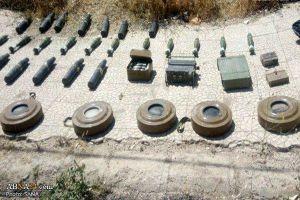 Syria: Bên trong kho vũ khí lớn của khủng bố mới được phát hiện ở Daraa