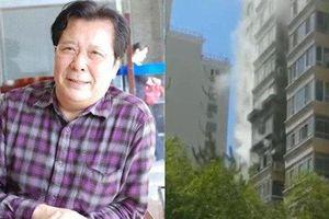 Căn hộ của 'Lưu Bị' Tôn Ngạn Quân bốc cháy dữ dội do chập điện