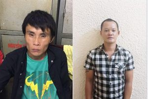 Hà Nội: Bắt giữ hai đối tượng chuyên cướp giật trước cửa ngân hàng