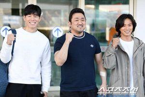 Yoon Seung Ah theo chồng và Ma Dong Seok sang Pháp dự 'LHP Cannes 2019'