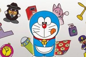 Góc khoe của: Mê mẩn những bảo bối trong túi thần kỳ của Doraemon trong chuyến phiêu lưu tới Mặt Trăng