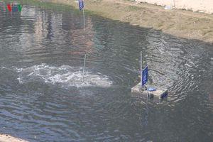 Mẫu nước sông Tô Lịch như thế nào sau 3 ngày xử lý?