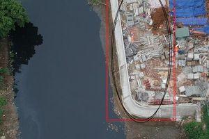 Công ty Quang Minh lấn chiếm sông Nhuệ là chủ đầu tư nhiều công trình khủng nhưng trụ sở lụp xụp đến không ngờ