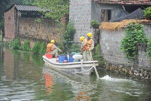 Xử lý ô nhiễm bằng chế phẩm Redoxy 3C : Hiệu quả tích cực, ao hồ sạch hơn