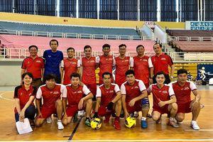 Sở Tư Pháp TP.HCM tham gia giải Futsal Công đoàn viên chức