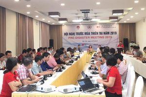 Hội Chữ thập đỏ Việt Nam sẵn sàng ứng phó với mùa thiên tai năm 2019