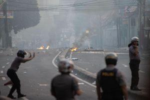 6 người chết, 200 người bị thương trong bạo loạn hậu bầu cử Indonesia