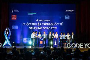 Phát động cuộc thi lập trình quốc tế với giải thưởng 2,6 tỉ đồng