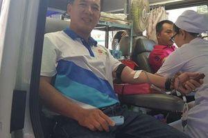 500 đoàn viên SCTV hiến máu nhân đạo
