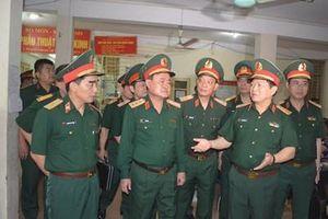Đại tướng Ngô Xuân Lịch kiểm tra tiến độ xây dựng Bệnh viện Quân y 103 và làm việc với Học viện Quân y