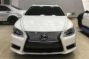 Dân chơi Nghệ An 'lột xác' Lexus LS 2007 trẻ ra 10 tuổi