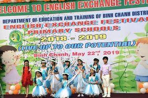 TP.HCM: 600 HS tiểu học tham gia ngày hội tiếng Anh