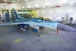 Không quân Mỹ sơn F-16 mô phỏng Su-57 của Nga