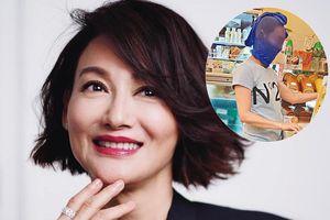 Minh tinh gạo cội TVB gây sốt vì đội vớ ra đường