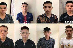 Hà Nội: Bắt 8 thanh thiếu niên nghiện game chuyên cướp tài sản trên đại lộ Thăng Long