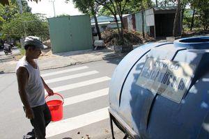 Đà Nẵng ráo riết đặt bồn chứa, tiếp nước tận nhà cho dân