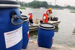 Công ty Thoát nước Hà Nội thông tin về chế phẩm độc quyền Redoxy-3C