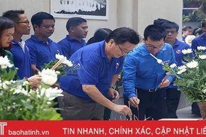 Đoàn đại biểu thanh niên Lào thăm các địa chỉ đỏ tại Hà Tĩnh