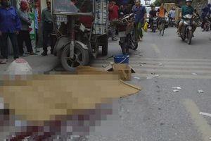 Hà Nội: Va chạm giao thông, người đàn ông bị xe ba bánh đè chết