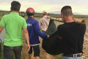 Người phụ nữ bị sét đánh chết khi đi gieo lúa thuê ở Quảng Trị