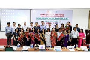 Cải thiện dinh dưỡng vì tầm vóc Việt