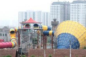 Sắp khai trương công viên nước lớn nhất Nam Hà Nội