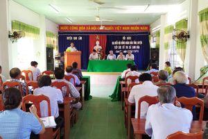 Đại biểu HĐND tỉnh Khánh Hòa tiếp xúc cử tri huyện Cam Lâm