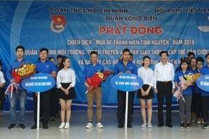 Quận Long Biên: Phát động 'Chiến dịch mùa hè thanh niên tình nguyện' năm 2019